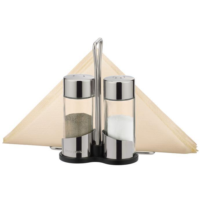 SALT, PEPPER, NAPKINS SET