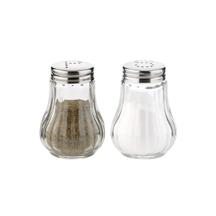 SALT SHAKER AND PEPPER POT