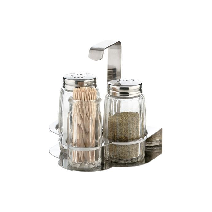 SALT-PEPPER-TOOTHPICKS SET