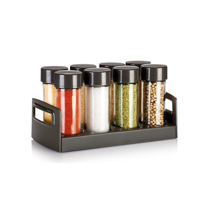 SPICE JARS IN STAND