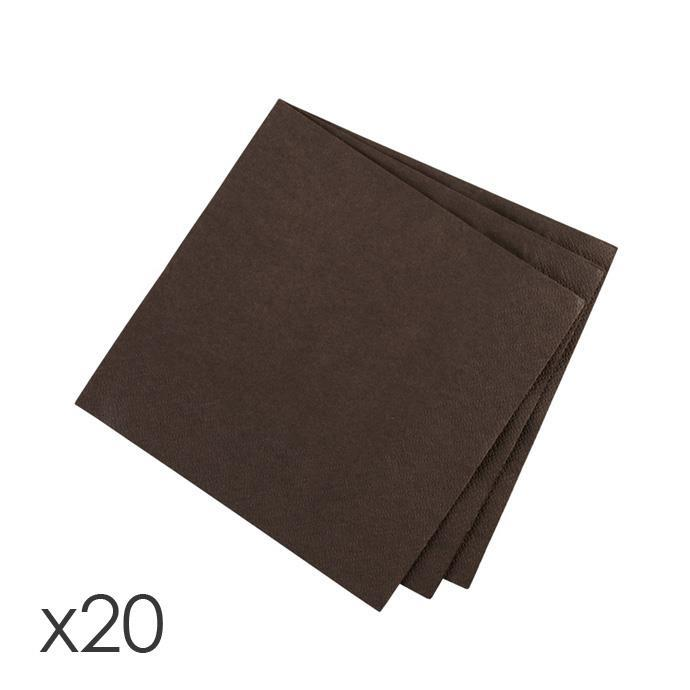 TABLE NAPKIN, CHOCOLATE