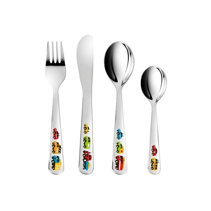 TABLE CUTLERY LITTLE CARS