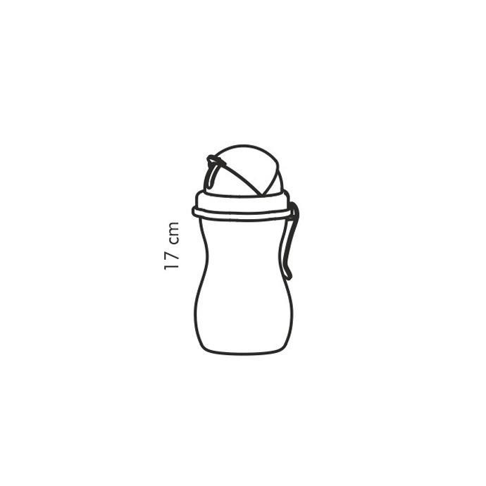 BABY BOTTLE WITH DRINKING STRAW