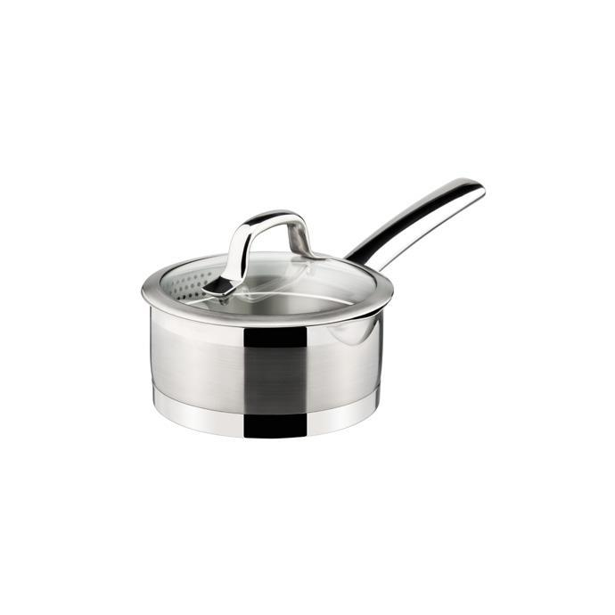 SAUCEPAN WITH STRAINING COVER