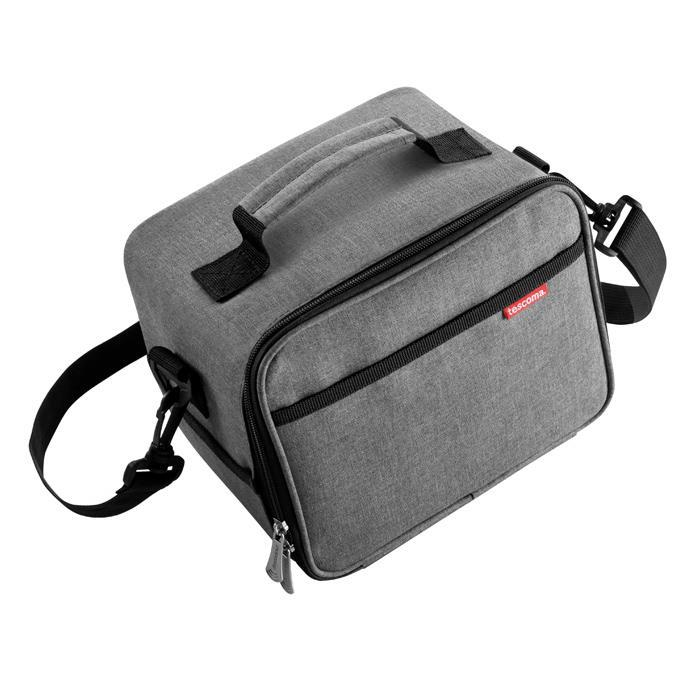 THERMAL-INSULATING LUNCH BAG WITH 3 CONTAINERS