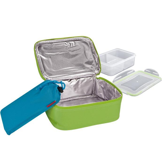 THERMAL-INSULATING LUNCH BAG WITH GEL PACK