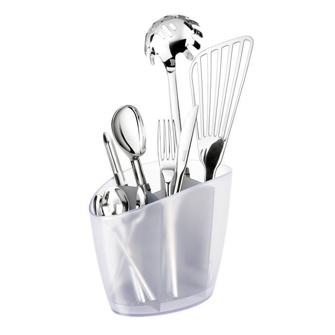DRAINER FOR KITCHEN UTENSILS