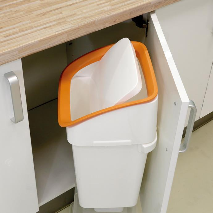 WALL-MOUNTED HOLDER FOR DUSTBIN