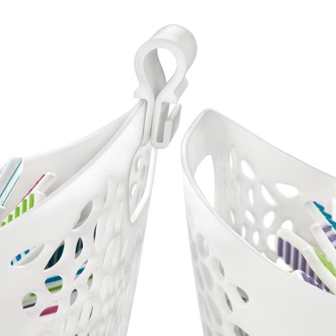 CLOTHES PEGS IN BASKET