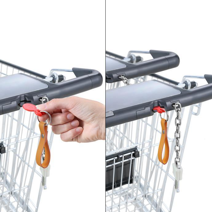 SHOPPING TROLLEY TOKENS