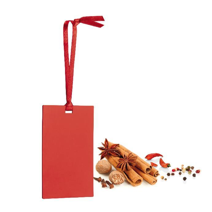SCENTED CARD, EXOTIC SPICES