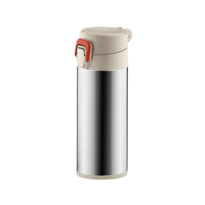 SPORTS VACUUM FLASK WITH LOCK MOCCA