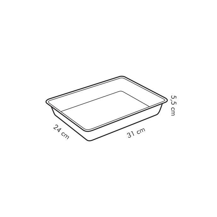 RECTANGULAR BAKING SHEET