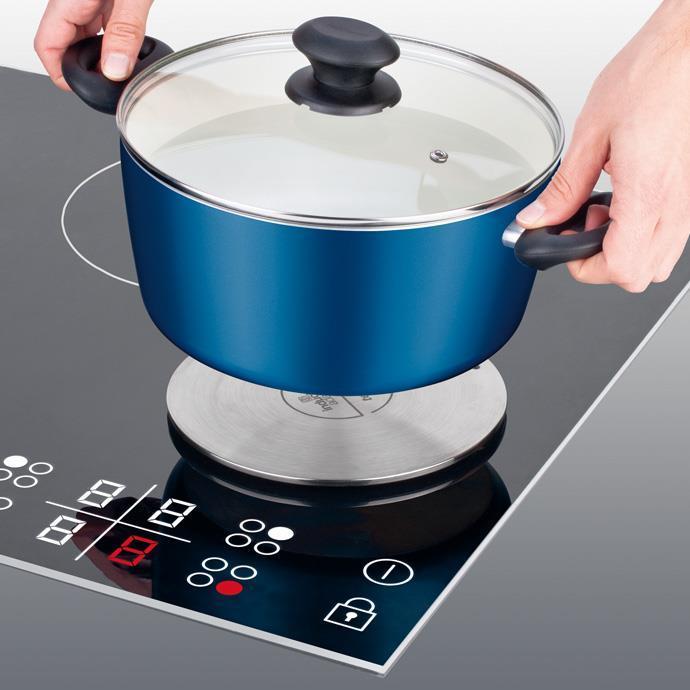 In1 adattatore per piano cottura a induzione linea presto tescoma - Pentole per cucine a induzione ...