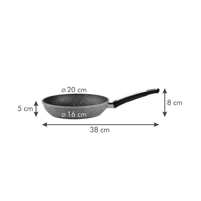 FRYING PAN, STONE COATING
