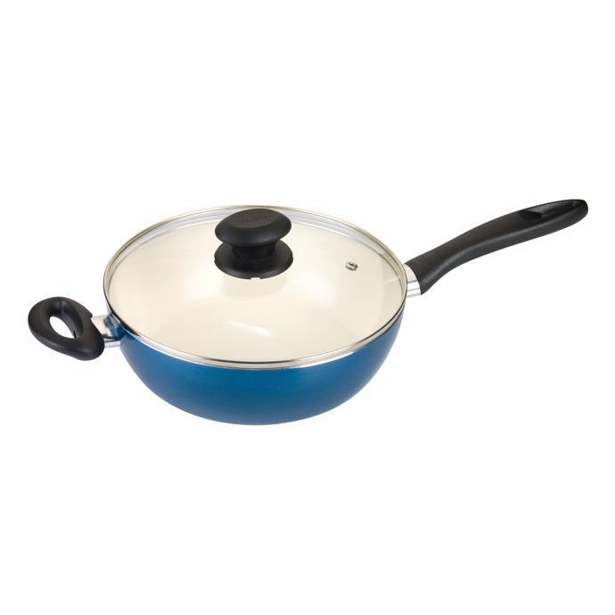 DEEP FRYING PAN WITH COVER