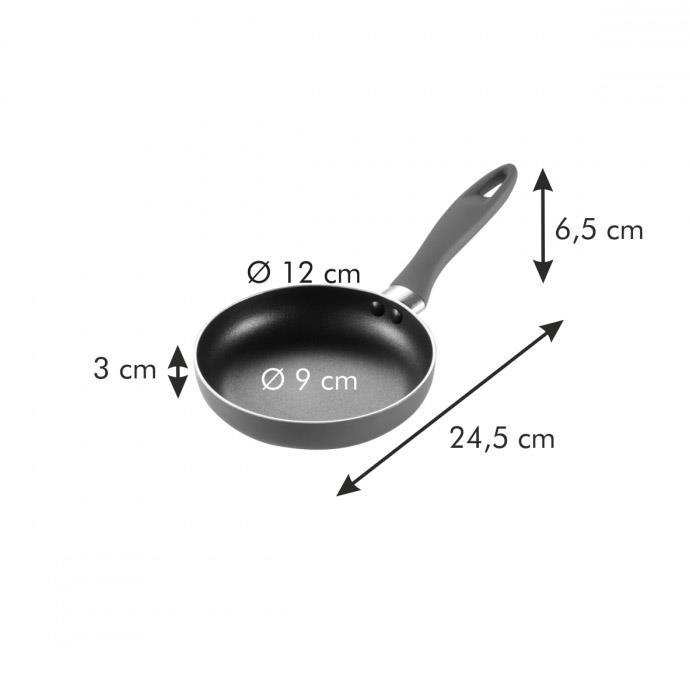 MINI FRYING PAN, ROUND