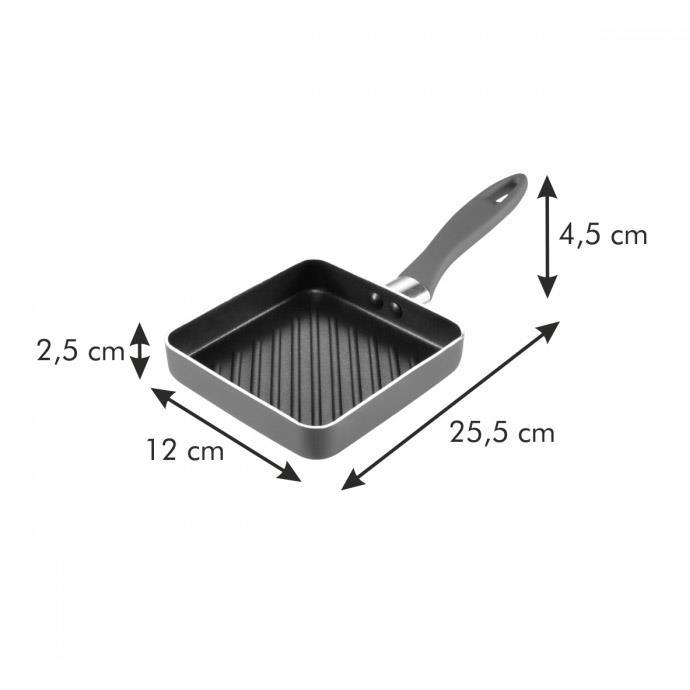 MINI GRILLING PAN, SQUARE
