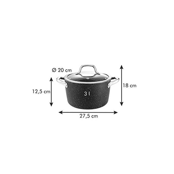 DEEP POT WITH COVER