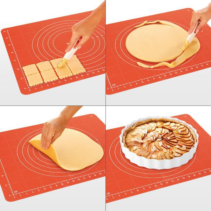 PASTRY BOARD WITH CLIP