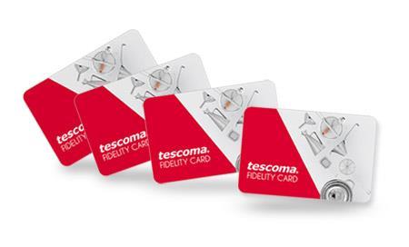 Fidelity card Tescoma